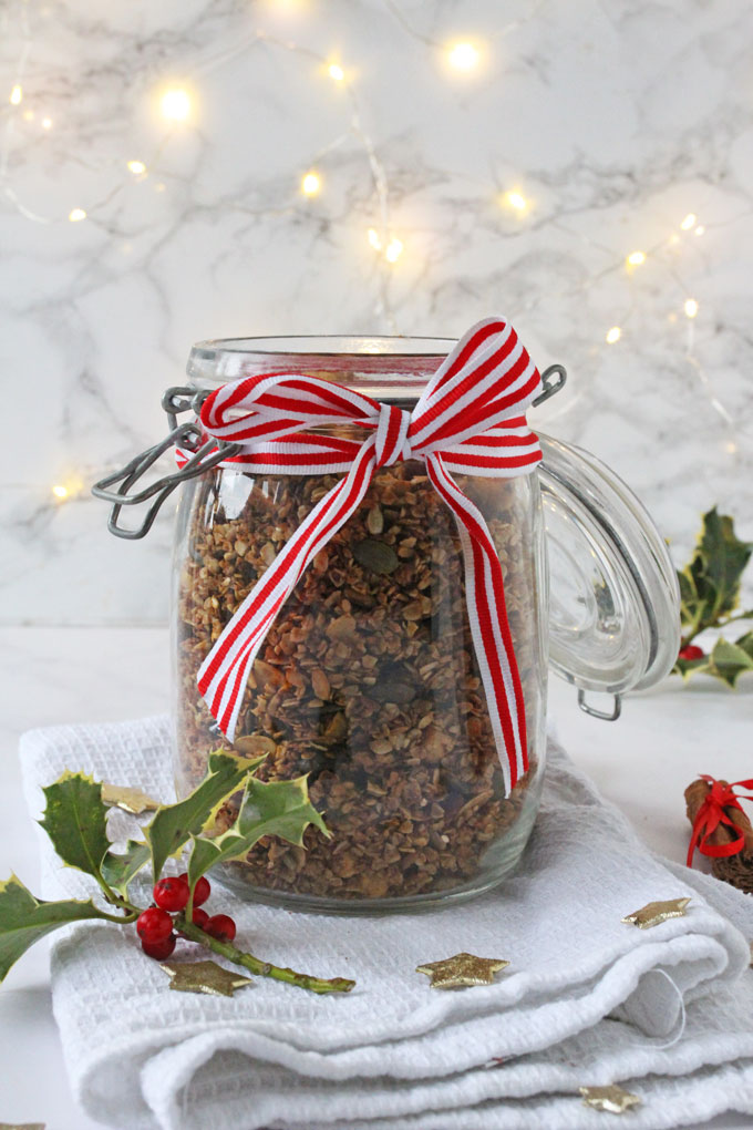 Gingerbread Granola Recipe