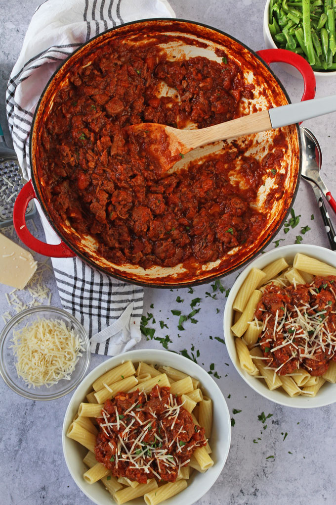Slow Cooked Lamb Ragu