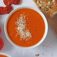 Roasted Tomato & Chorizo Soup with Braun MultiQuick Blender