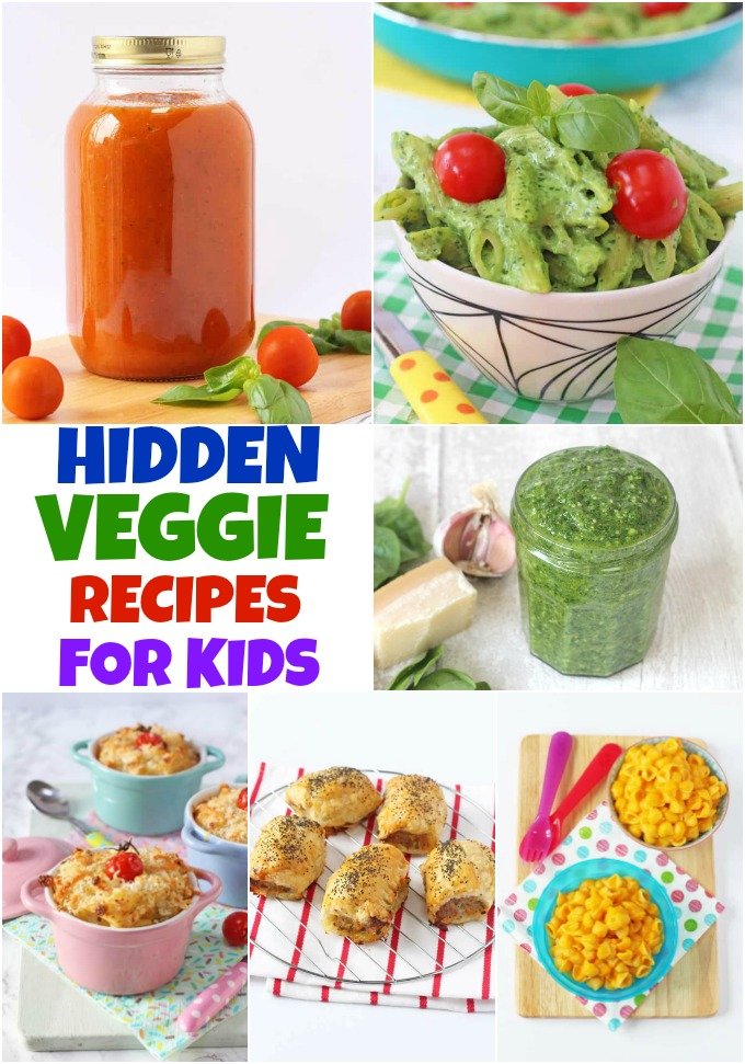 Hidden Veg Recipes for Kids