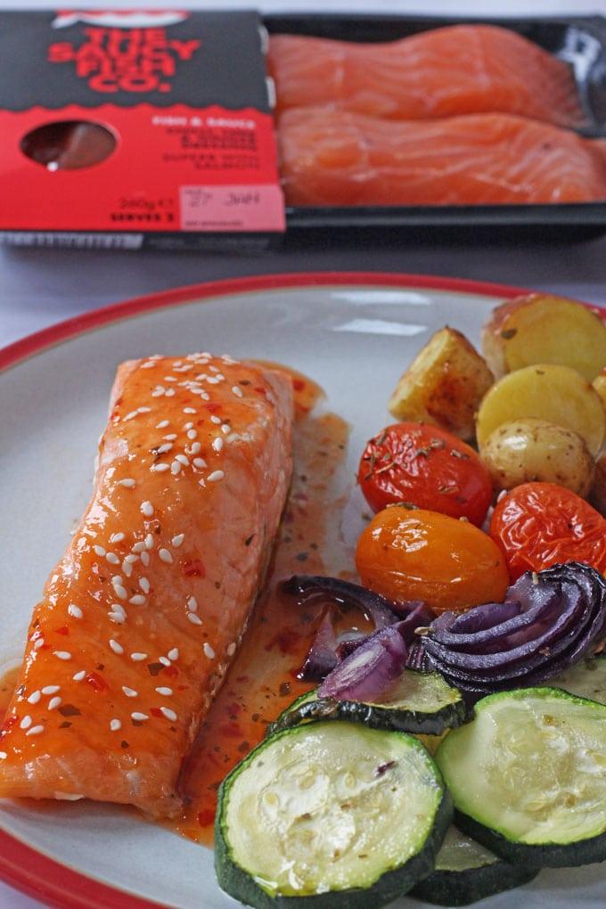 The Saucy Fish Co. Chilli Salmon