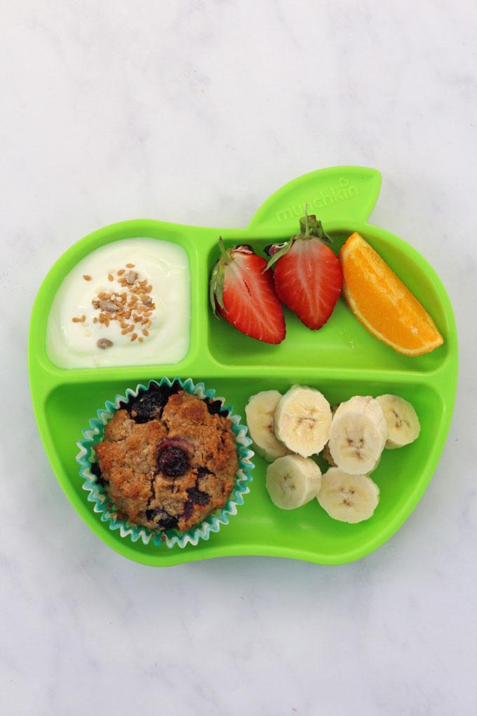 Blueberry Weetabix Muffins