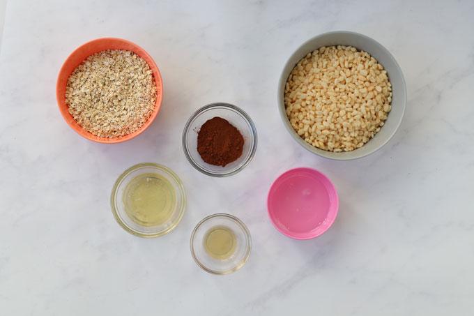 ingredients for the crispy bites