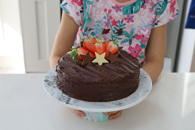 Easy Chocolate Fudge Cake Kenwood Chef My Fussy Eater Easy