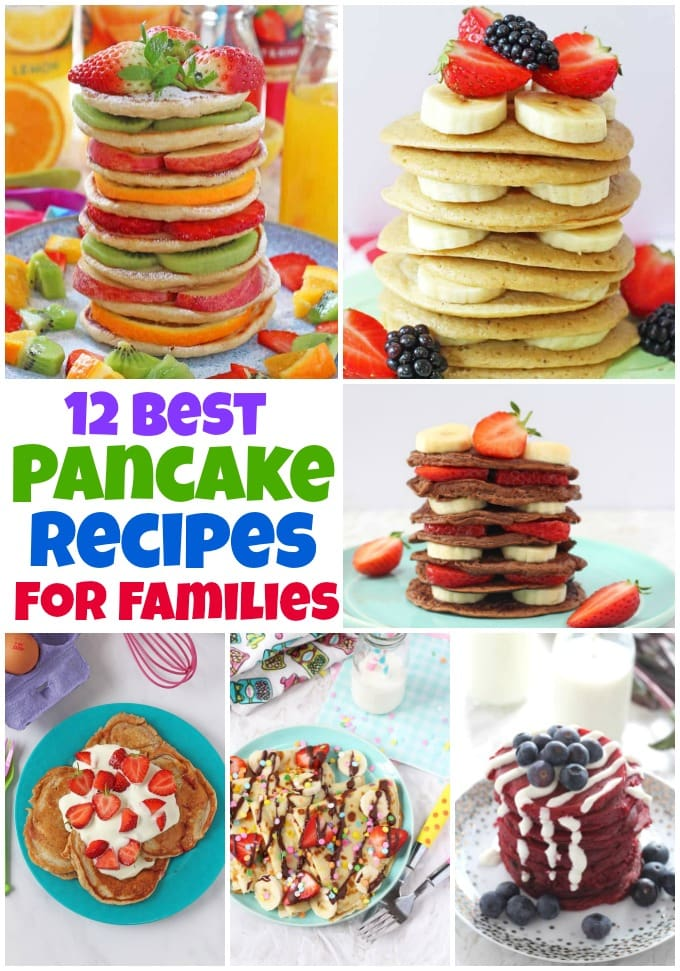 12 of the best pancake recipes for families