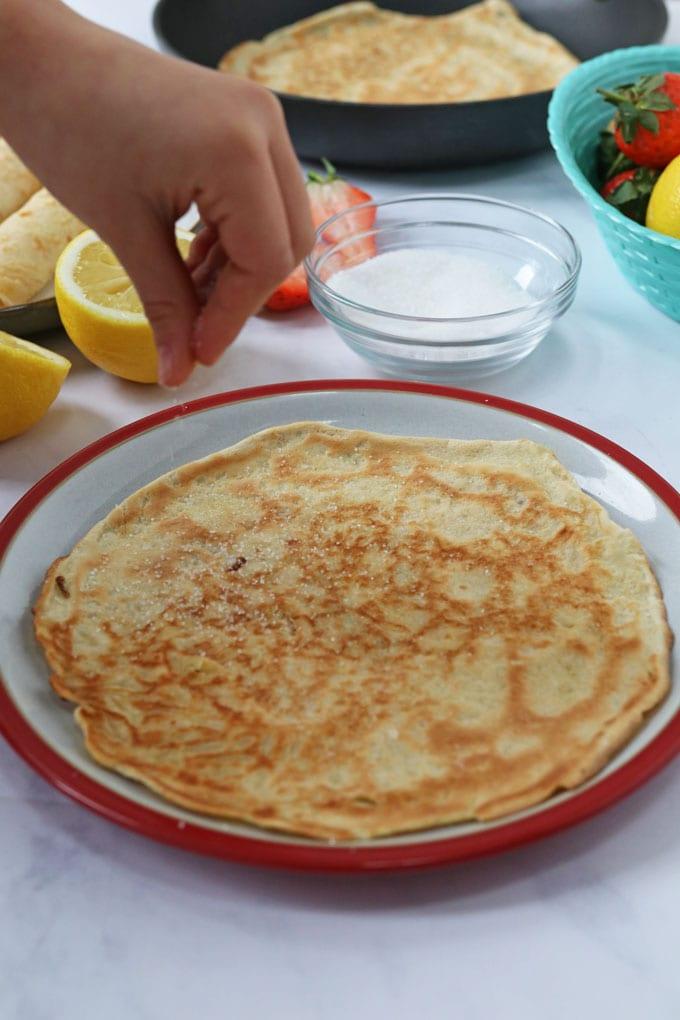 Easy Crepe Style Pancake