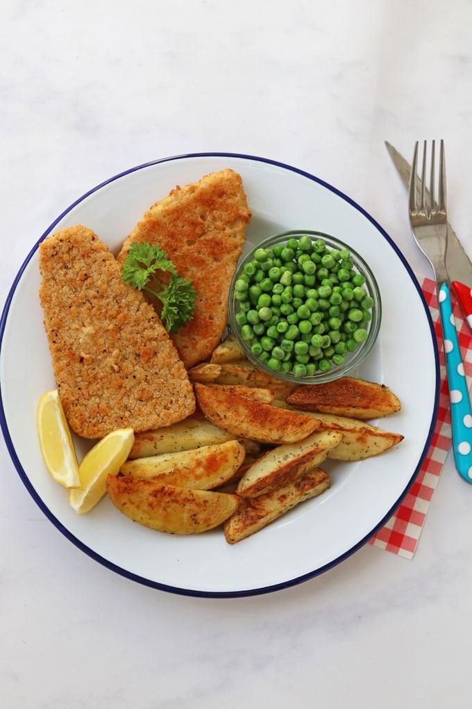 Quorn Vegan Fishless Fillets