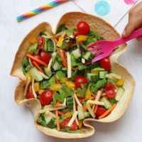 Tortilla Salad Bowl