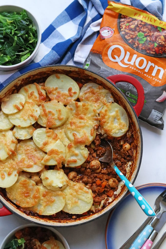 Veggie Hot Pot with Quorn