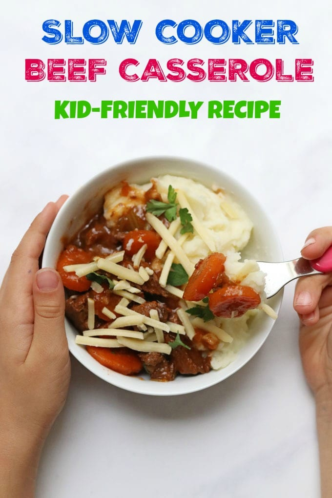 kid friendly beef casserole