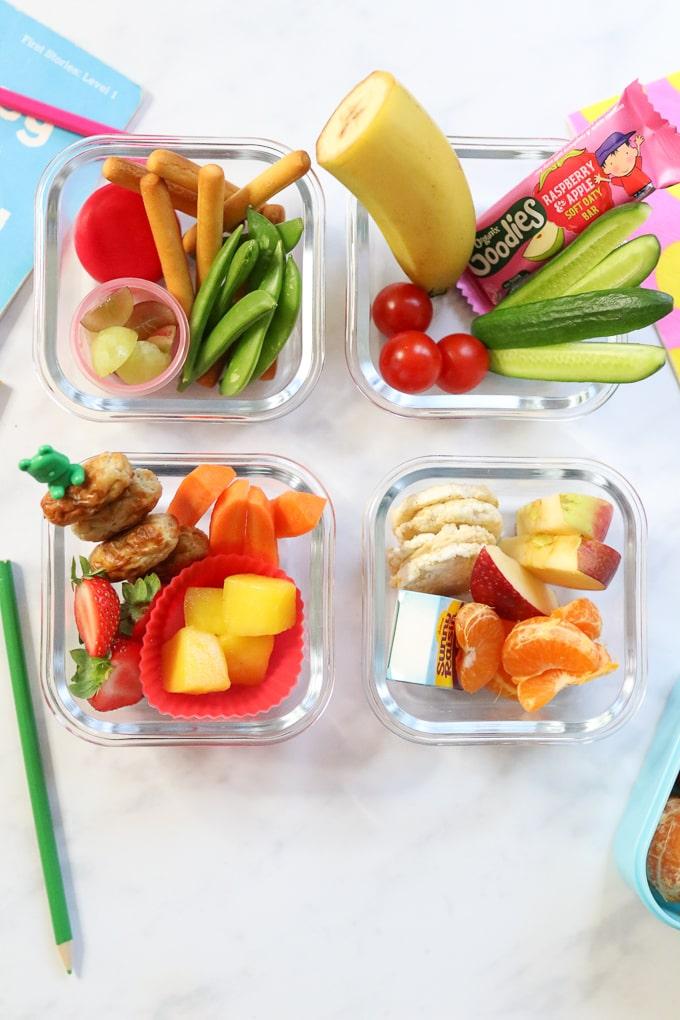 School Snack Ideas for Kids