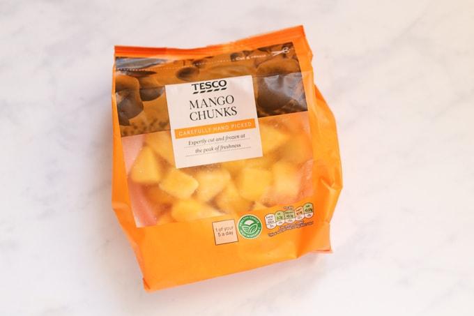 mango chunks