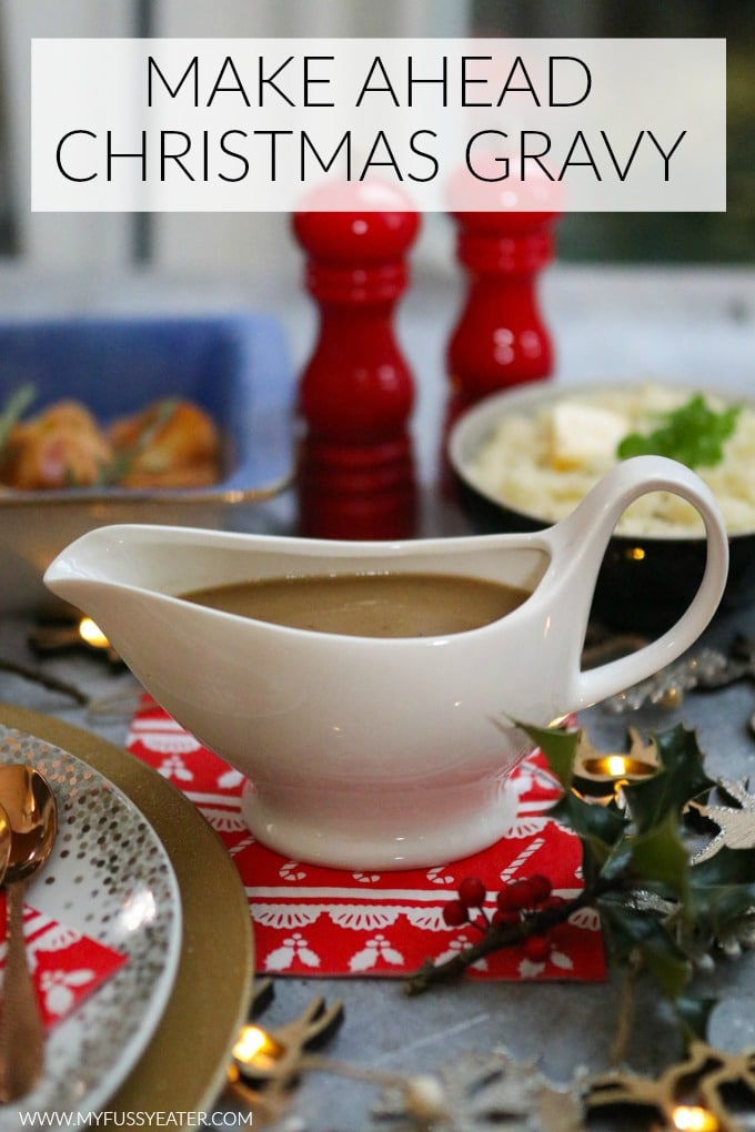 make ahead christmas gravy