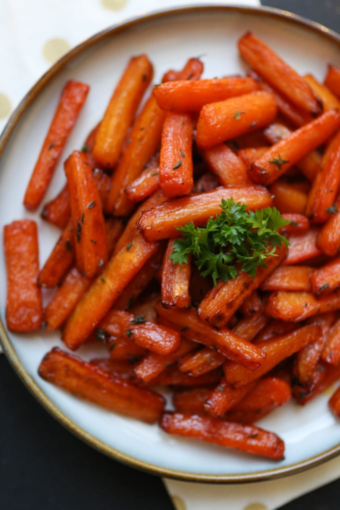 Actifry carrot chips