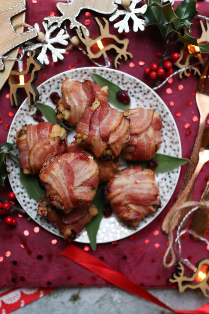 Cranberry & Orange Christmas Stuffing Parcels