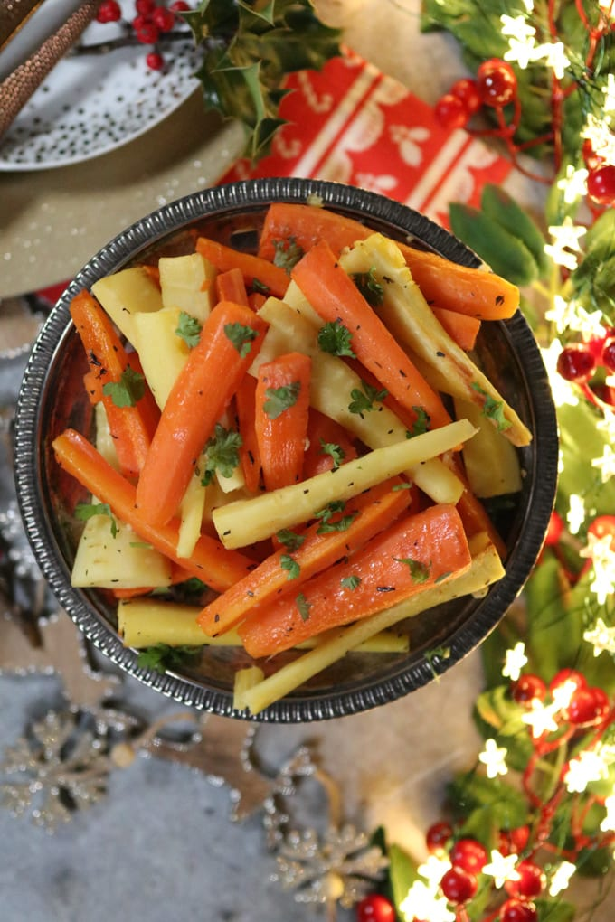 Christmas Carrots & Parsnips