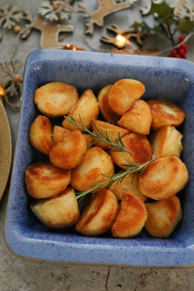 Freeze Ahead Roast Potatoes