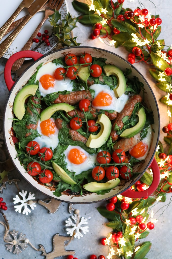 One Pan Christmas Morning Breakfast