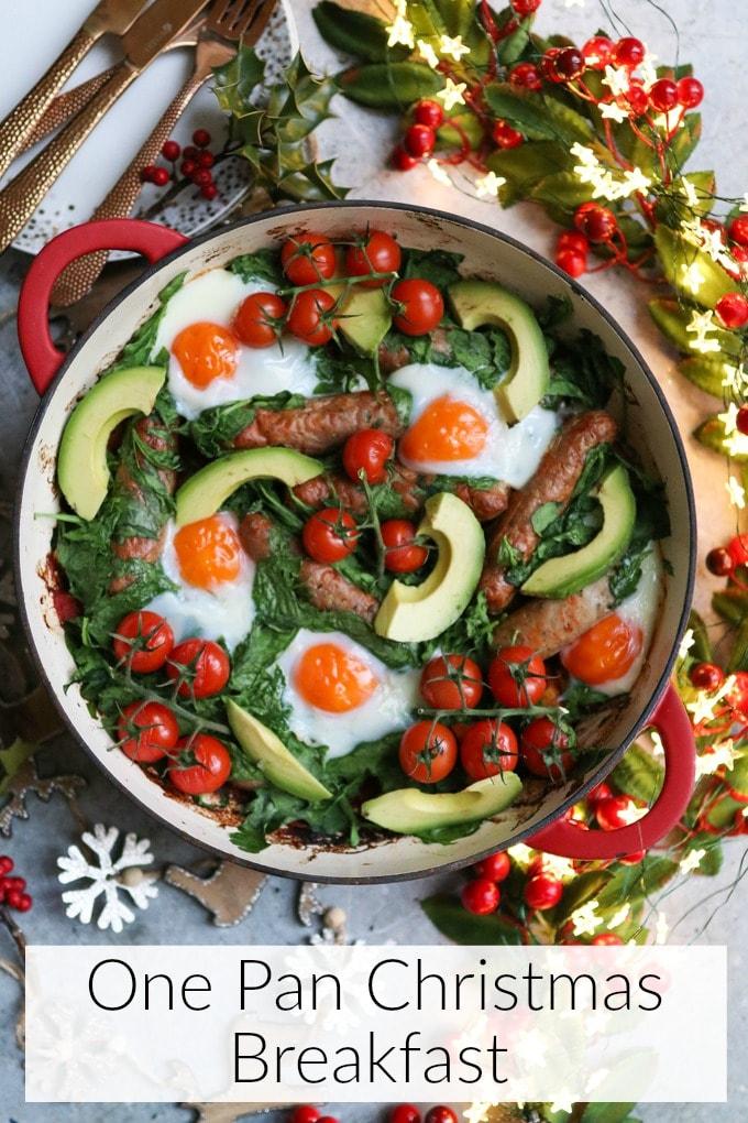 one pan christmas breakfast