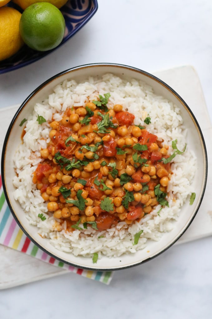 10 Minute Chickpea Curry