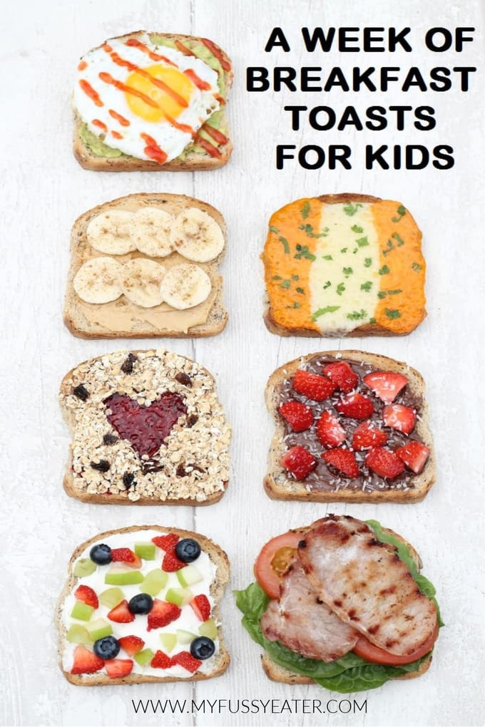 toast ideas for kids