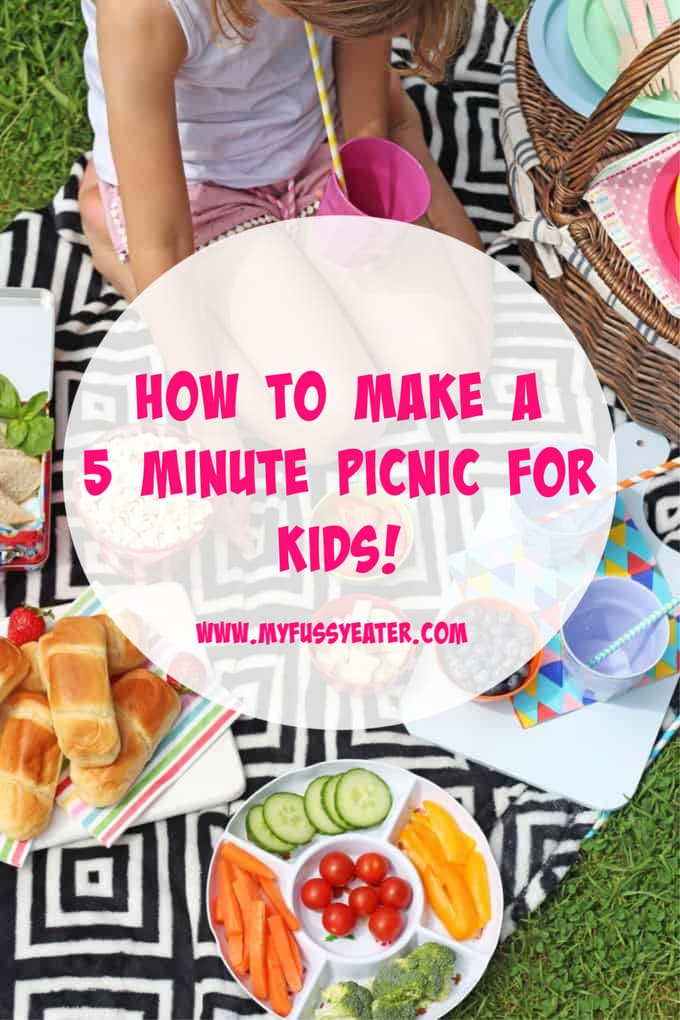 how to make a 5 minute picnic for kids
