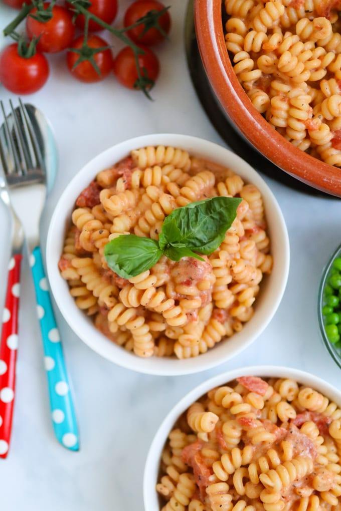 Tomato Marscapone Pasta Sauce Recipe
