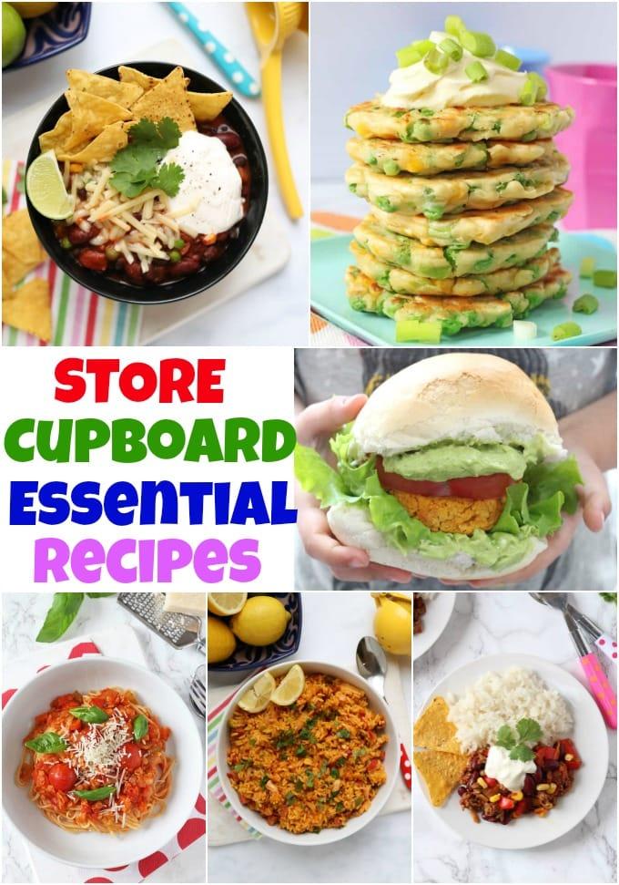 Store Cupboard Recipes