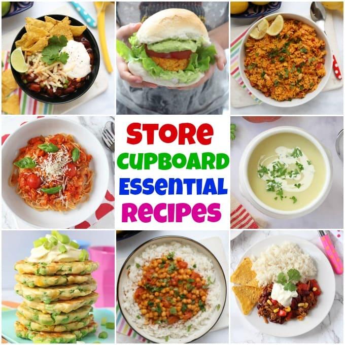 Store Cupboard Essential Recipes