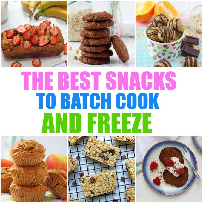 How To batch cook and freeze snacks for kids