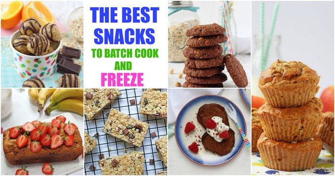 Como Lote Cook & Freeze Snacks - My Fussy Eater 1