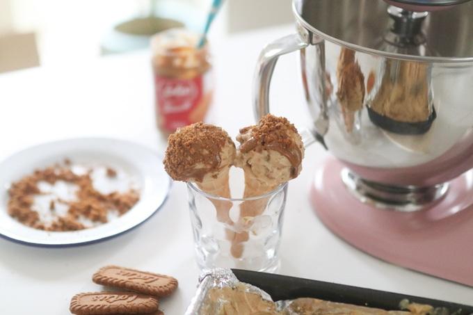 Sorvete Biscoff com batedeira KitchenAid - My Fussy Eater 1
