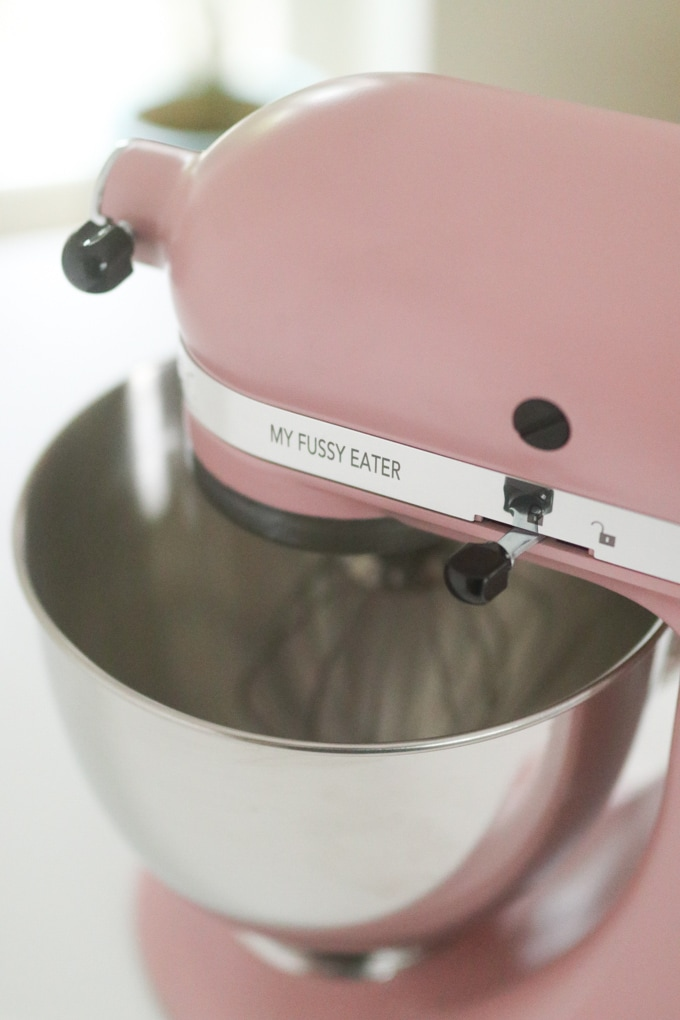 KitchenAid personalised with My Fussy Eater