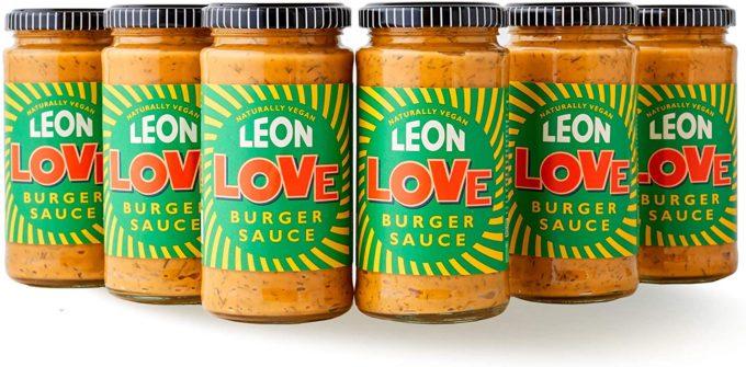 Leon Love Burger Sauce