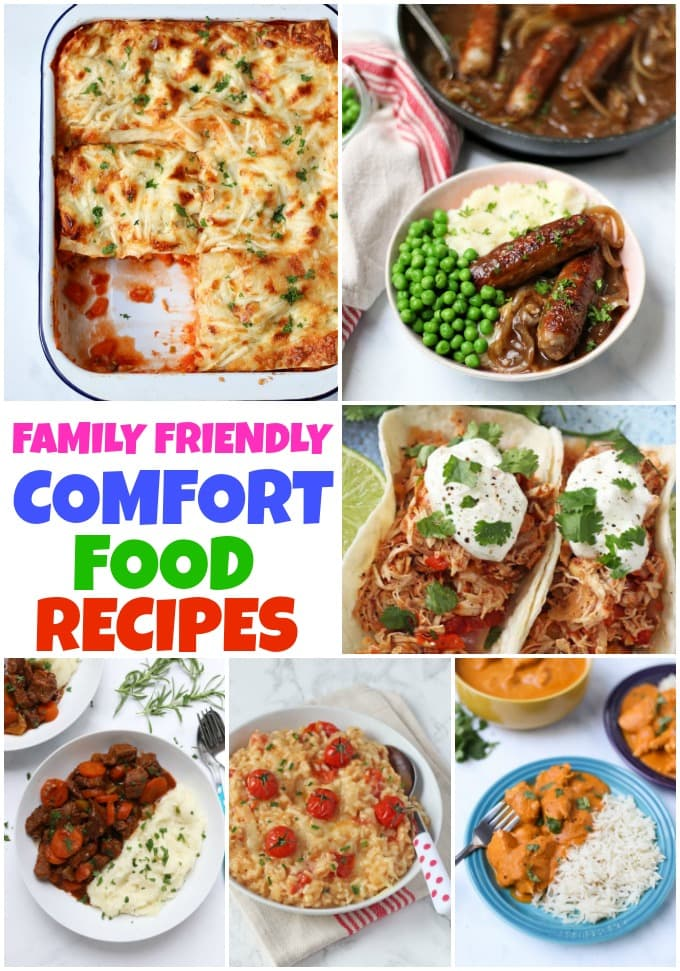 Family Friendly Comfort Food Recipes