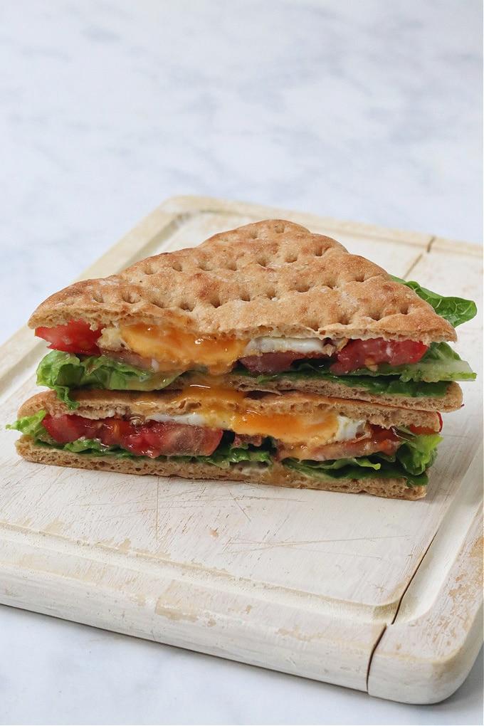 Egg, Lettuce & Tomato Sandwich