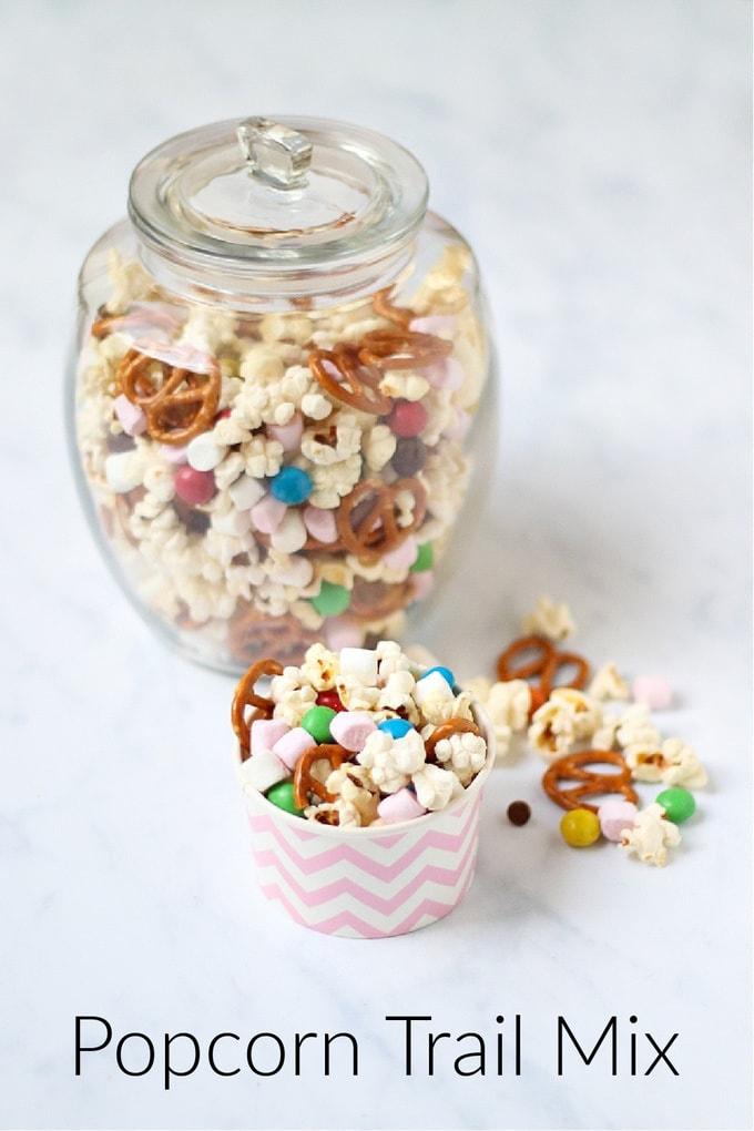 Popcorn Trail Mix Pinterest Pin