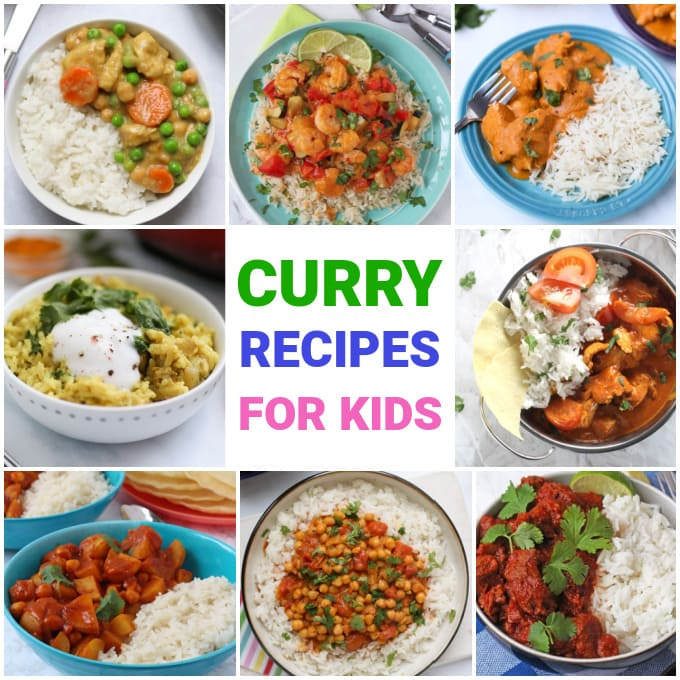 Curry Recipes For  Kids