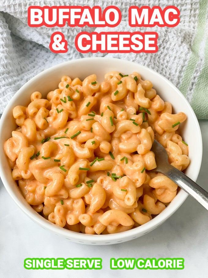 Buffalo Mac & Cheese Pinterest Pin